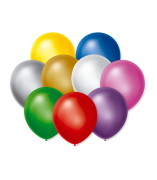 Balão São Roque Cintilante N°9 C/50un Sortido