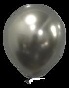 Balão São Roque Metalizado N°5 C/25un Prata