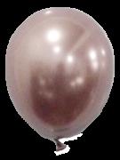 Balão São Roque Metalizado N°5 C/25un Rose Gold