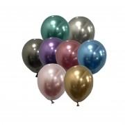 Balão São Roque Metalizado N°5 C/25un Sortido