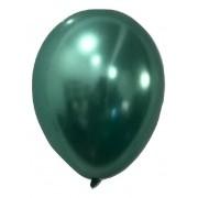 Balão São Roque Metalizado N°9 C/25un Verde