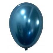 Balão São Roque Metalizado N°9 C/25un Azul