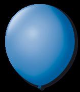Balão São Roque Redondo N°11 C/50un Azul Turquesa