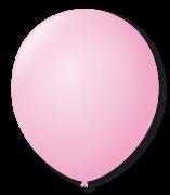 Balão São Roque Redondo N°11 C/50un Rosa Baby