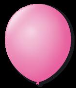 Balão São Roque Redondo N°11 C/50un Rosa Tutti-Fruti