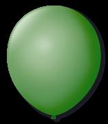 Balão São Roque Redondo N°11 C/50un Verde Bandeira
