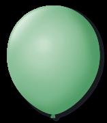 Balão São Roque Redondo N°11 C/50un Verde Lima