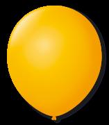 Balão São Roque N°5 Redondo C/50un Amarelo Sol
