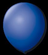 Balão São Roque N°5 Redondo C/50un Azul Cobalto