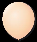 Balão São Roque N°5 Redondo C/50un Bege