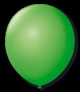 Balão São Roque N°5 Redondo C/50un Verde Maça