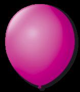 Balão São Roque N°7 C/50un Ameixa