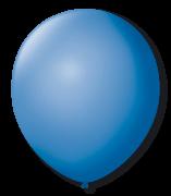 Balão São Roque N°9 C/50un Azul Turquesa