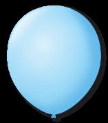 Balão São Roque N°9 C/50un Azul Baby