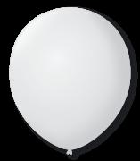 Balão São Roque N°9 C/50un Branco Polar