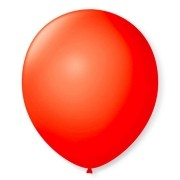 Balão São Roque N°9 C/50un Vermelho Quente