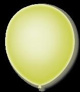 Balão São Roque Neon N°9 C/25un Amarelo