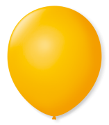 Balão São Roque N°7 C/50un Amarelo Sol