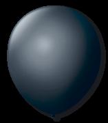 Balão São Roque N°7 C/50un Preto Ébano