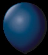 Balão São Roque Redondo N°8 C/50un Azul Petróleo