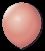 Balão São Roque Redondo N°8 C/50un Coral