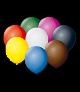 Balão São Roque Redondo N°8 C/50un Sortido