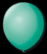 Balão São Roque Redondo N°8 C/50un Tiffany