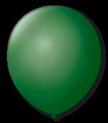 Balão São Roque Redondo N°8 C/50un Verde Folha