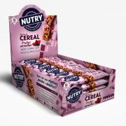 Barra De Cereais Nutry Frutas Vermelhas Com Cookies 22gr C/24 - Nutrimental