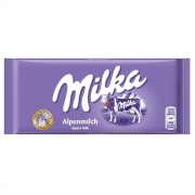 Barra De Chocolate Ao Leite 100g - Milka