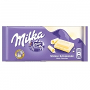 Barra De Chocolate Branco 100g - Milka