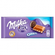 Barra De Chocolate Milka Oreo 100g