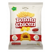 Batata Catchup Lisa Óleo De Girassol 40g Ebicen