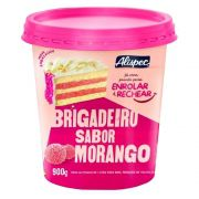 Brigadeiro De Morango (Bicho De Pé) 900gr - Alispec