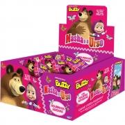 Chiclete Masha e o Urso Tutti Frutti c/100 - Buzzy