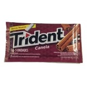 Chiclete Trident Canela 8gr C/21 - Adams