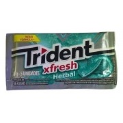 Chiclete Trident Fresh Herbal 8gr C/21 - Adams