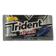 Chiclete Trident Fresh Intense 8gr C/21 - Adams