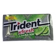 Chiclete Trident Fresh Limão Ice 8gr C/21 - Adams