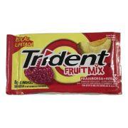 Chiclete Trident FruitMix Framboesa E Melão 8gr C/21 -Adams