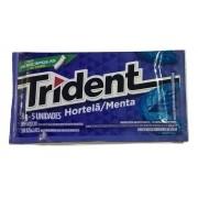 Chiclete Trident Hortelã 8gr C/21 - Adams