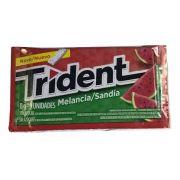 Chiclete Trident Melancia 8gr C/21 - Adams