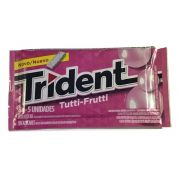 Chiclete Trident Tutti-Frutti 8gr C/21 - Adams