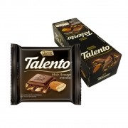 Chocolate Amargo Mini Talento Preto Amêndoas 25g C/15un - Garoto