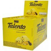 Chocolate Branco Tablete Talento Amarelo Cereais e Passas 90Gr C/12un - Garoto