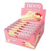 Chocolate Branco Trento Cheesecake De Morango C/16 - Peccin