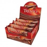 Chocolate Com Wafer Trento Recheio Chocolate C/16 - Peccin