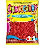 Chocolate Confeito Chococandy Vermelho 350gr - Dori