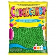 Chocolate Confeito Chococandy Verde 350gr - Dori