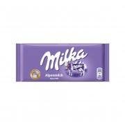 Chocolate Milka Ao Leite Alpenmilch 100g - Chocolate Importado
